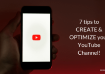 7 tips to CREATE & OPTIMIZE your YouTube Channel! Ecommerce Underdog